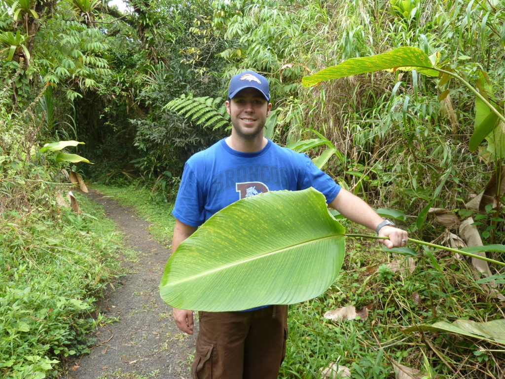 hiking in parque nacional arenal