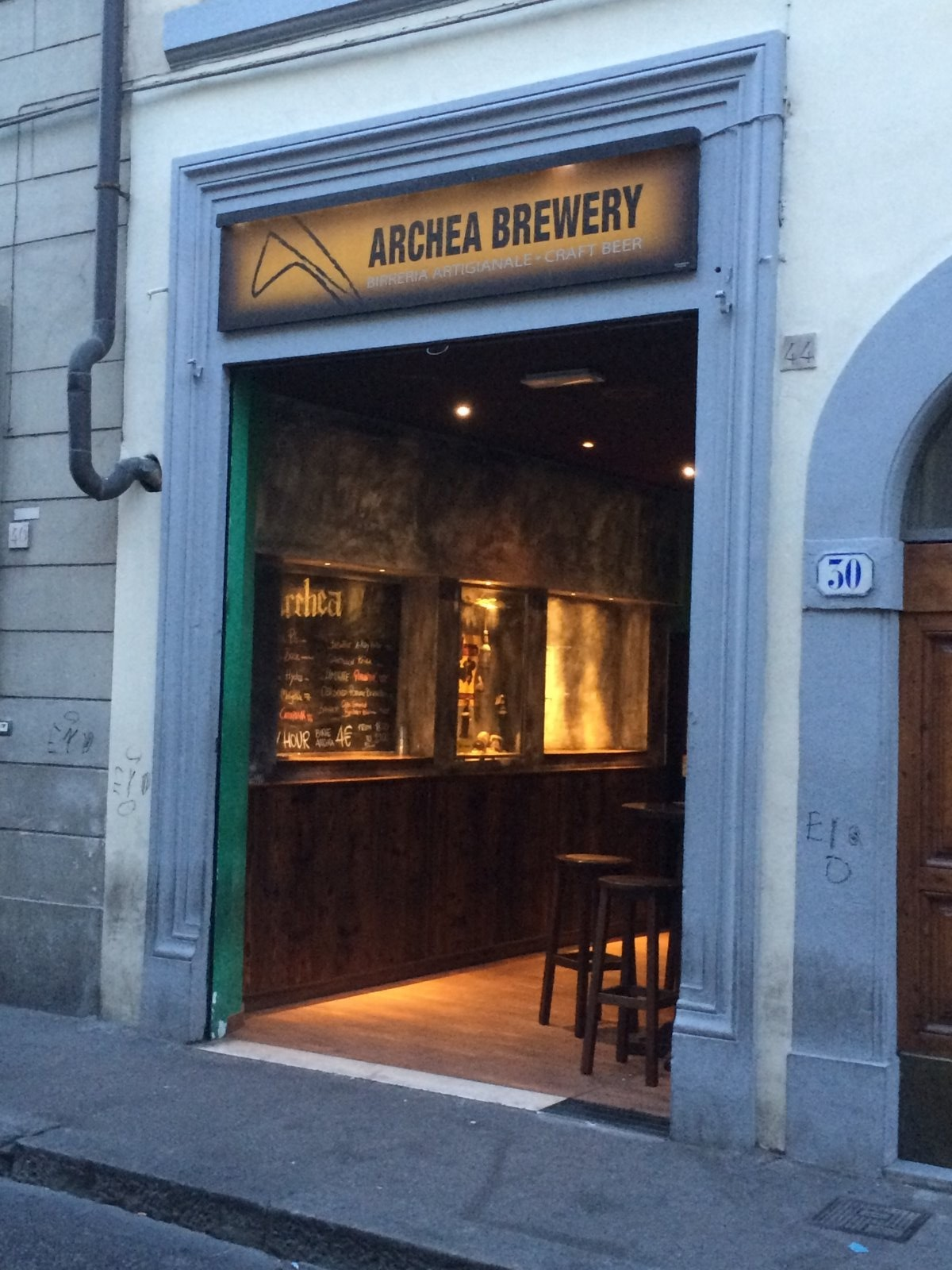craft beer at archea brewery
