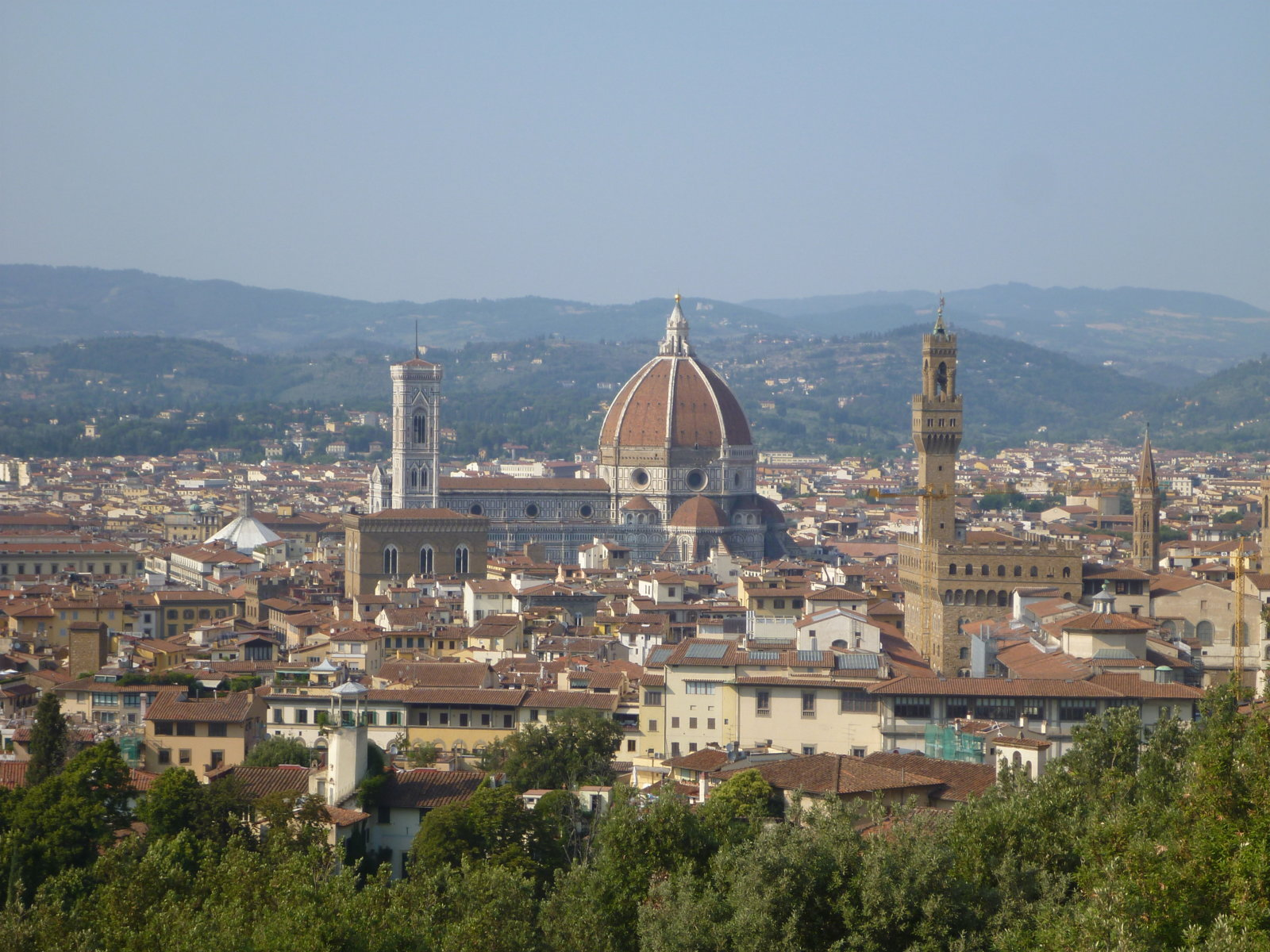 Il Duomo seen from Ft Belvedere