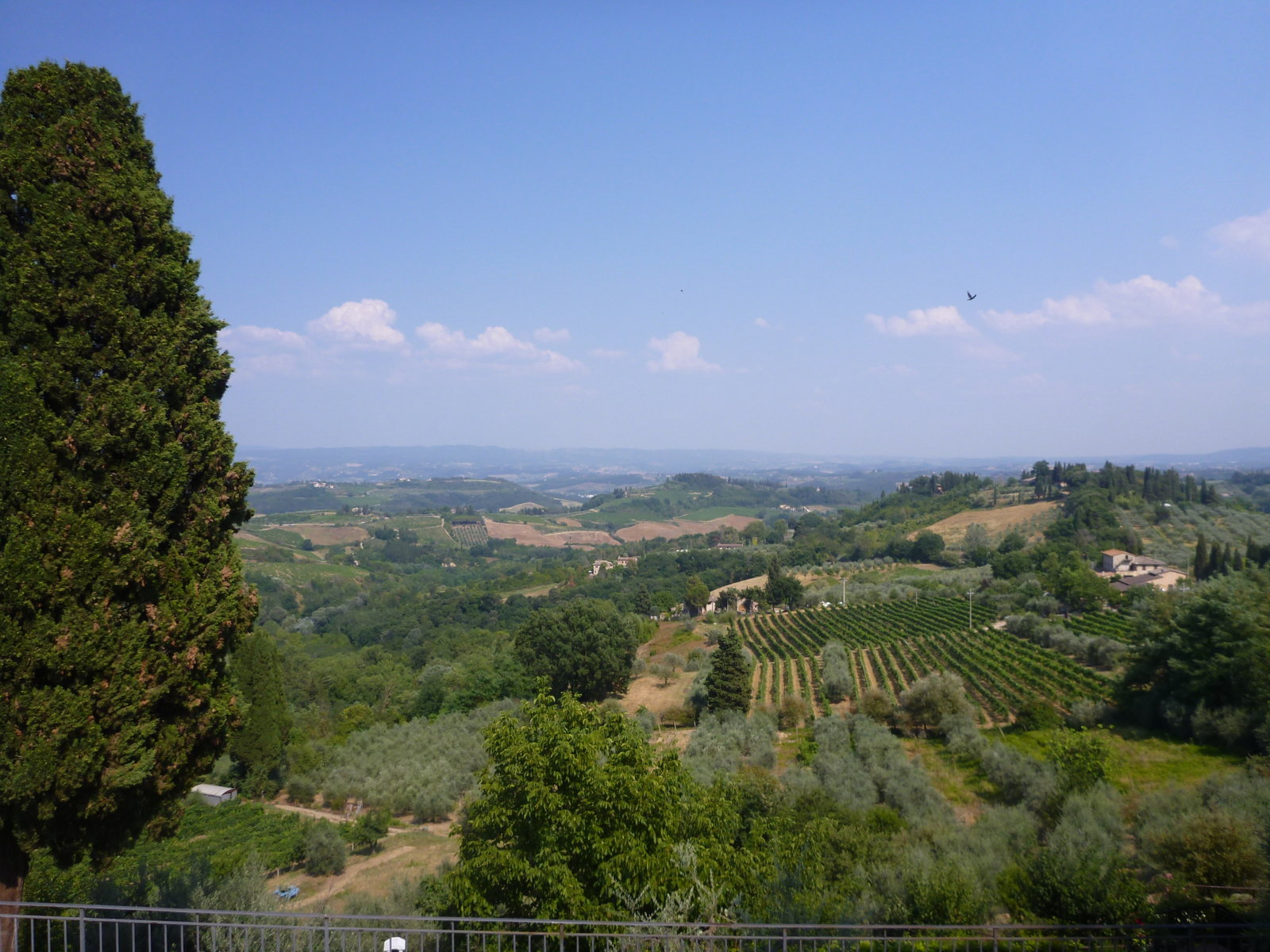 View of tuscany a great day trip from florence