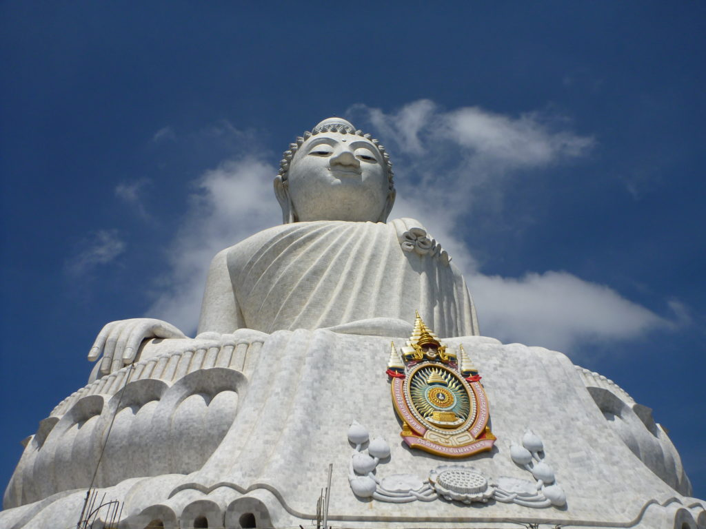 The big budha in Phuket, Thailand