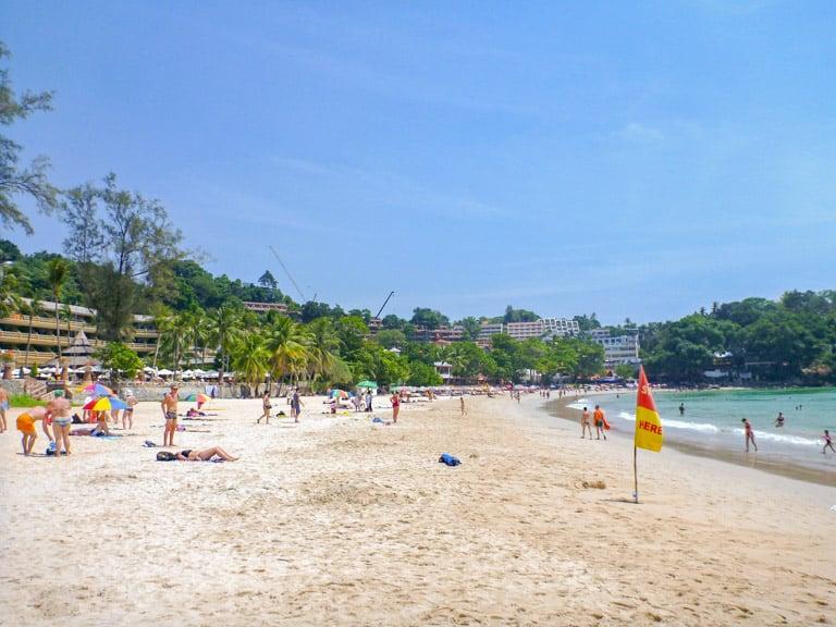 Phuket Thailand kata beach