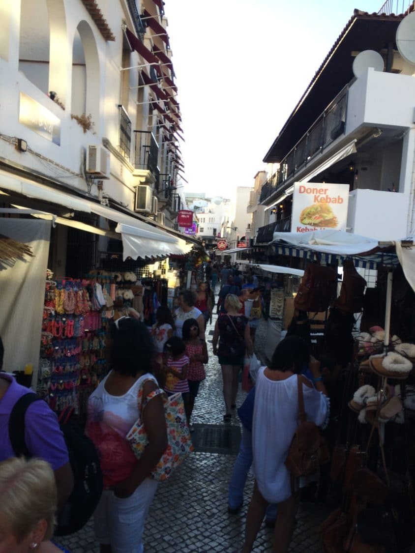 Streets of Albufeira