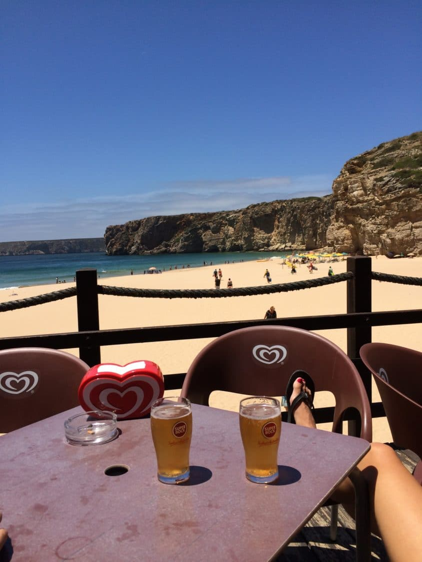 Relaxing at Praia Beliche