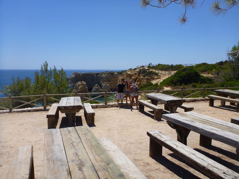marinha beach picnic area