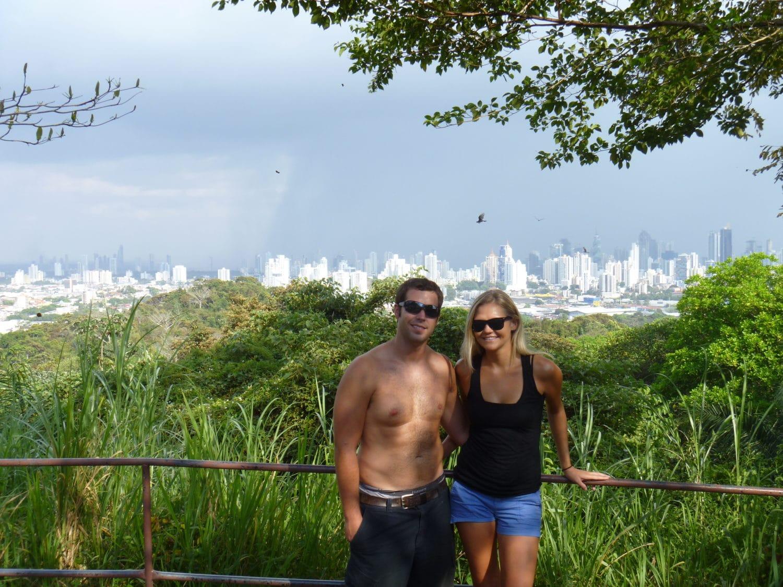 Views from parque metropolitano