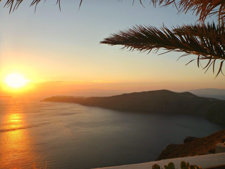 Santorini, Greece Sunset
