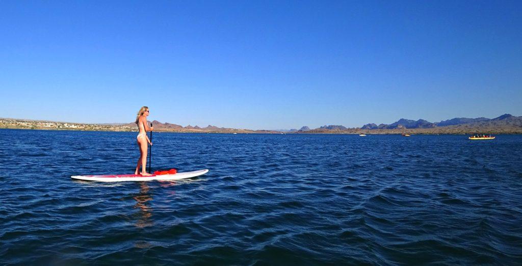 stand up paddle boarding Lake Havasu Arizona