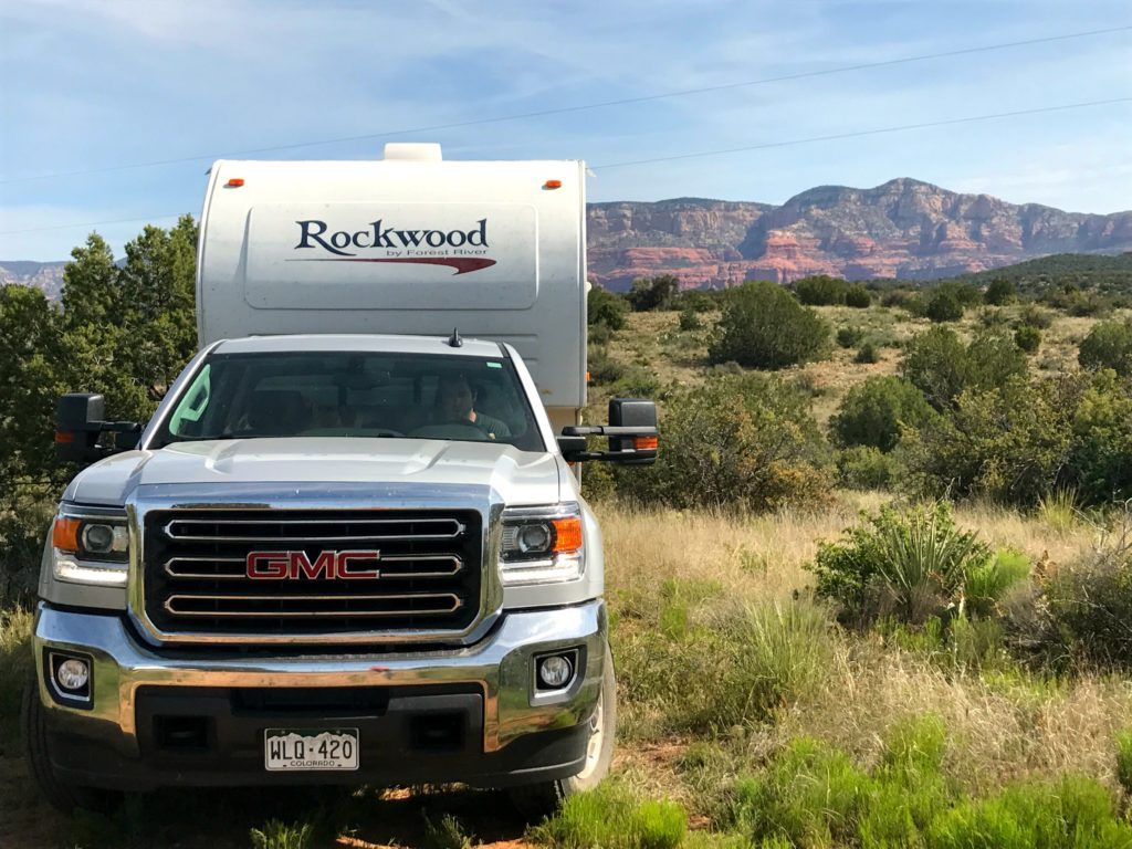 Loy Butte Road Sedona Arizona Boondocking