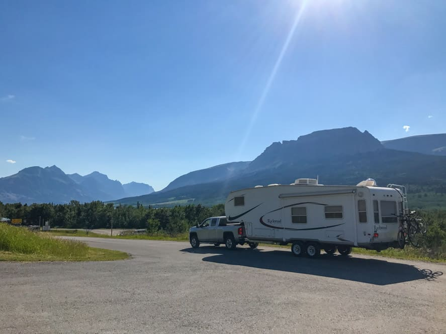 Johnson's Campground and RV Park Saint Mary Montana Glacier National Park