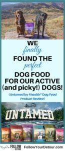 Our dogs are our family and we love giving them a very active and adventurous lifestyle. But it's always been a struggle to find the right kind of food to feed them. Our black lab has allergies and our australian shepherd is extremely picky. But we were so surprised by how much they loved Untamed #dogfood We love it because its grain free, has omega fatty acids, premium ingredients, and antioxidants. Feed your fur babies this pet food and they'll thank you! #petfood #furbabies #doglovers #petcare