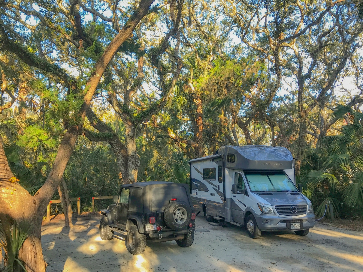 Florida State Beach Rv Camping 1 Of 2 Follow Your Detour