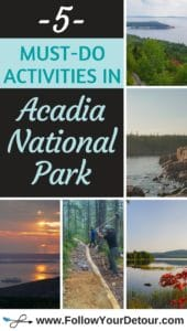 photos of must do activities in acadia national park