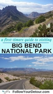 a first-timer's guide to visiting Big Bend National Park