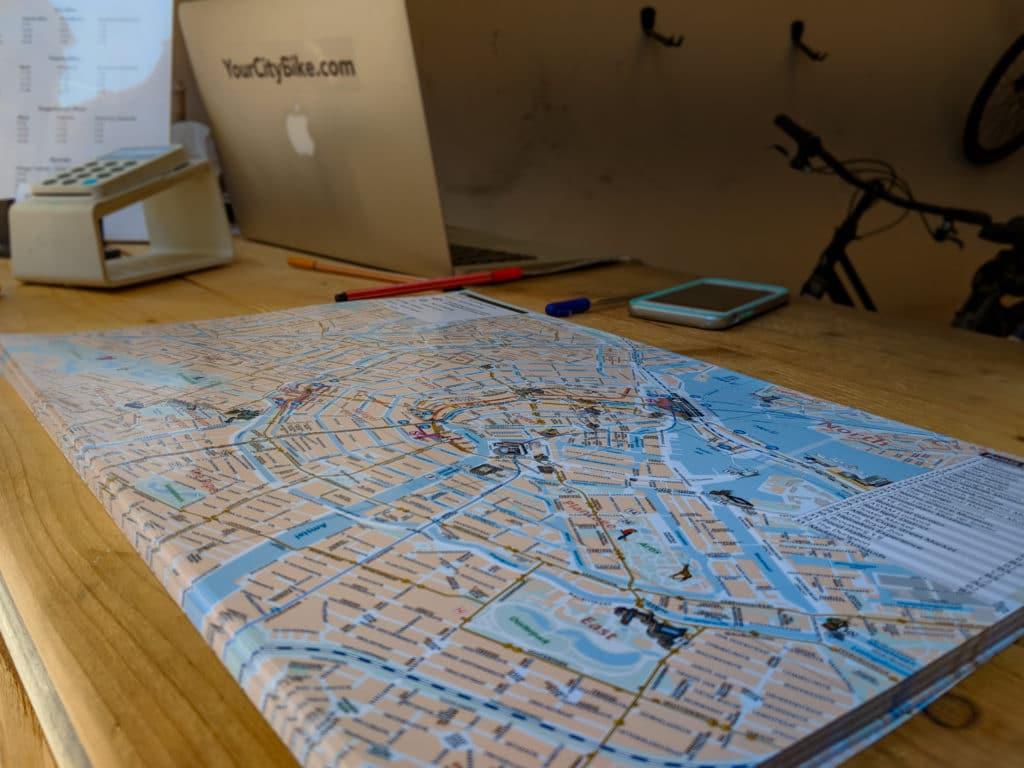 your city bike amsterdam map