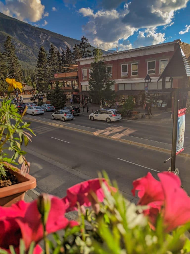Downtown Banff Alberta Canada