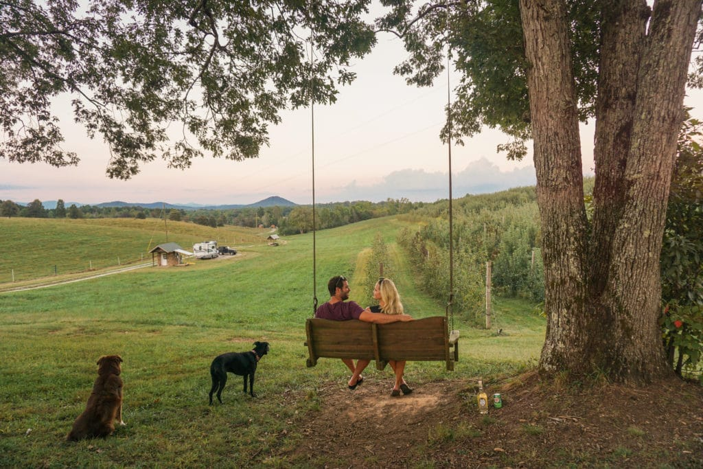 Chattooga Belle Farm camping