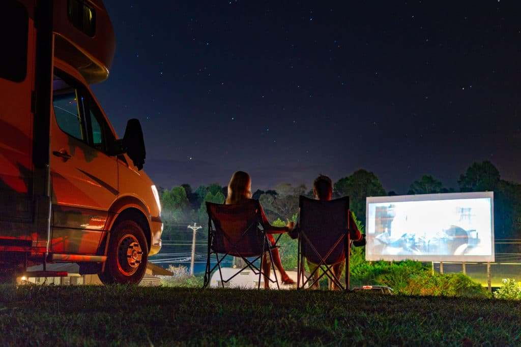 camping tiger drive in