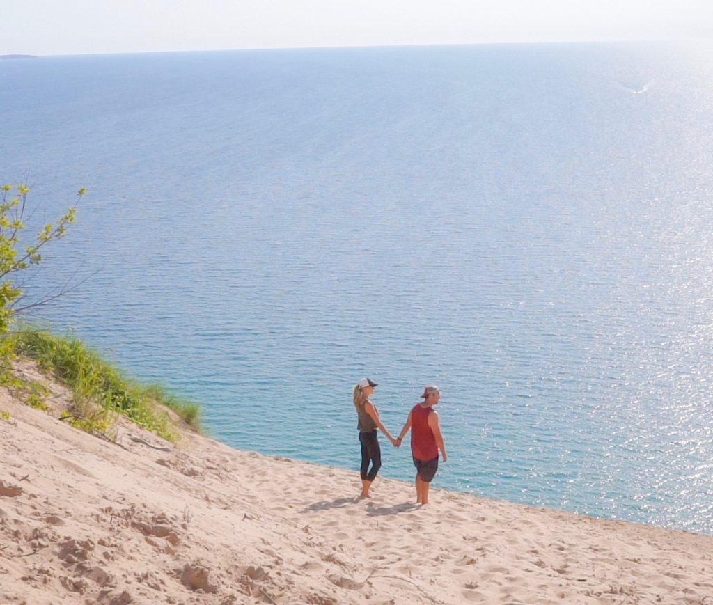lake michigan overlook sleeping bear dunes