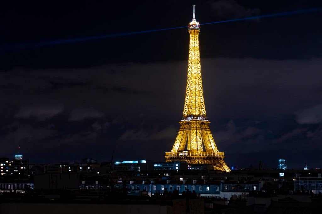 Eifle Tower at Night-1