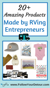 20 amazing products made by RVing entrepreneurs