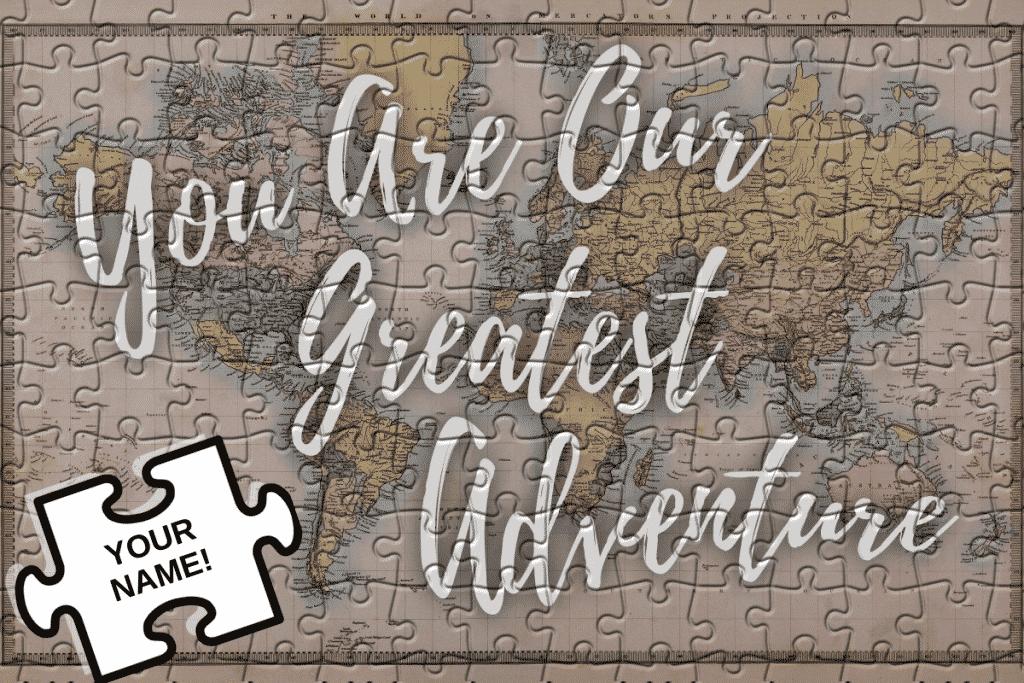 adoption puzzle fundraiser