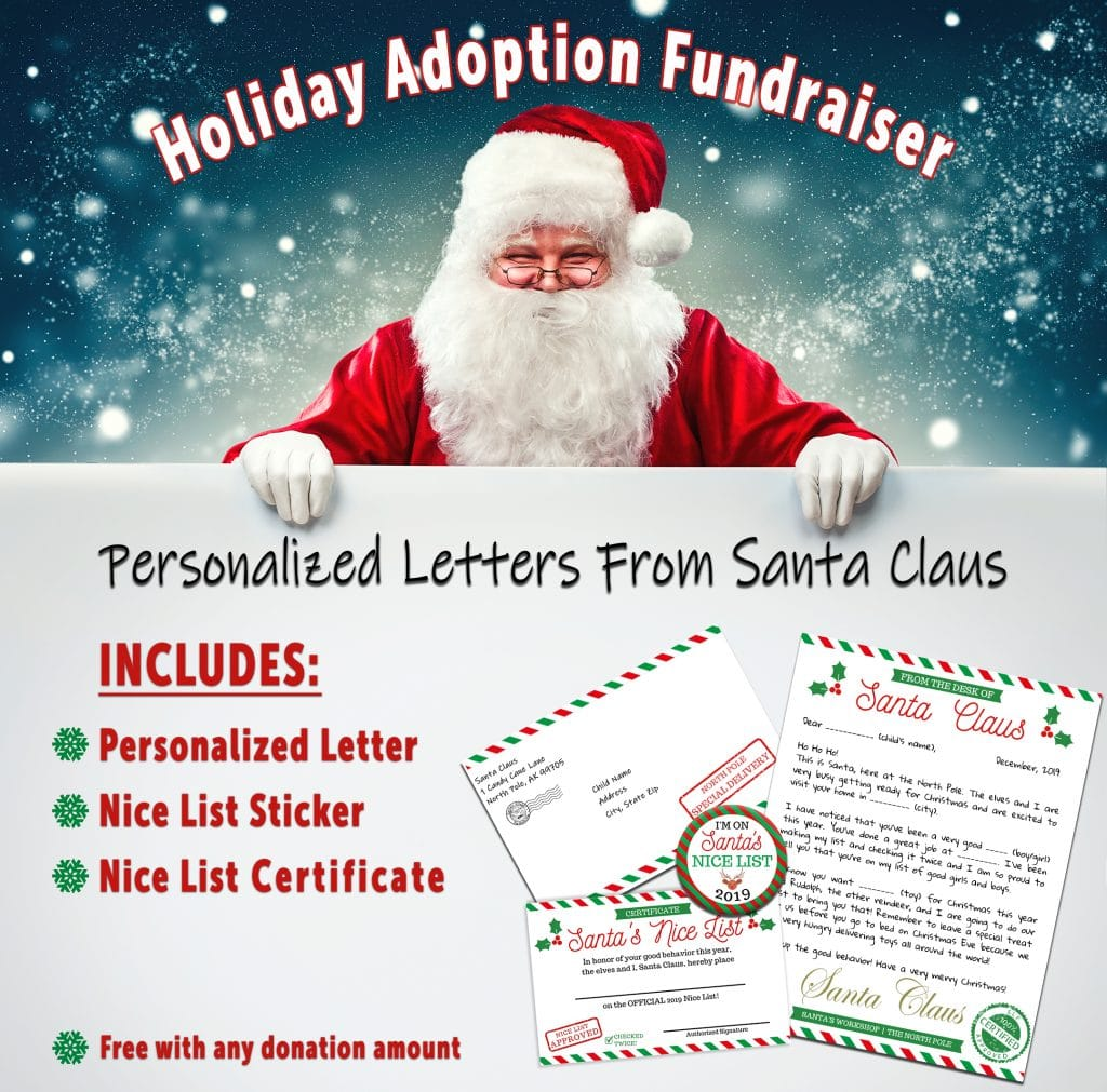 letters from santa fundraiser