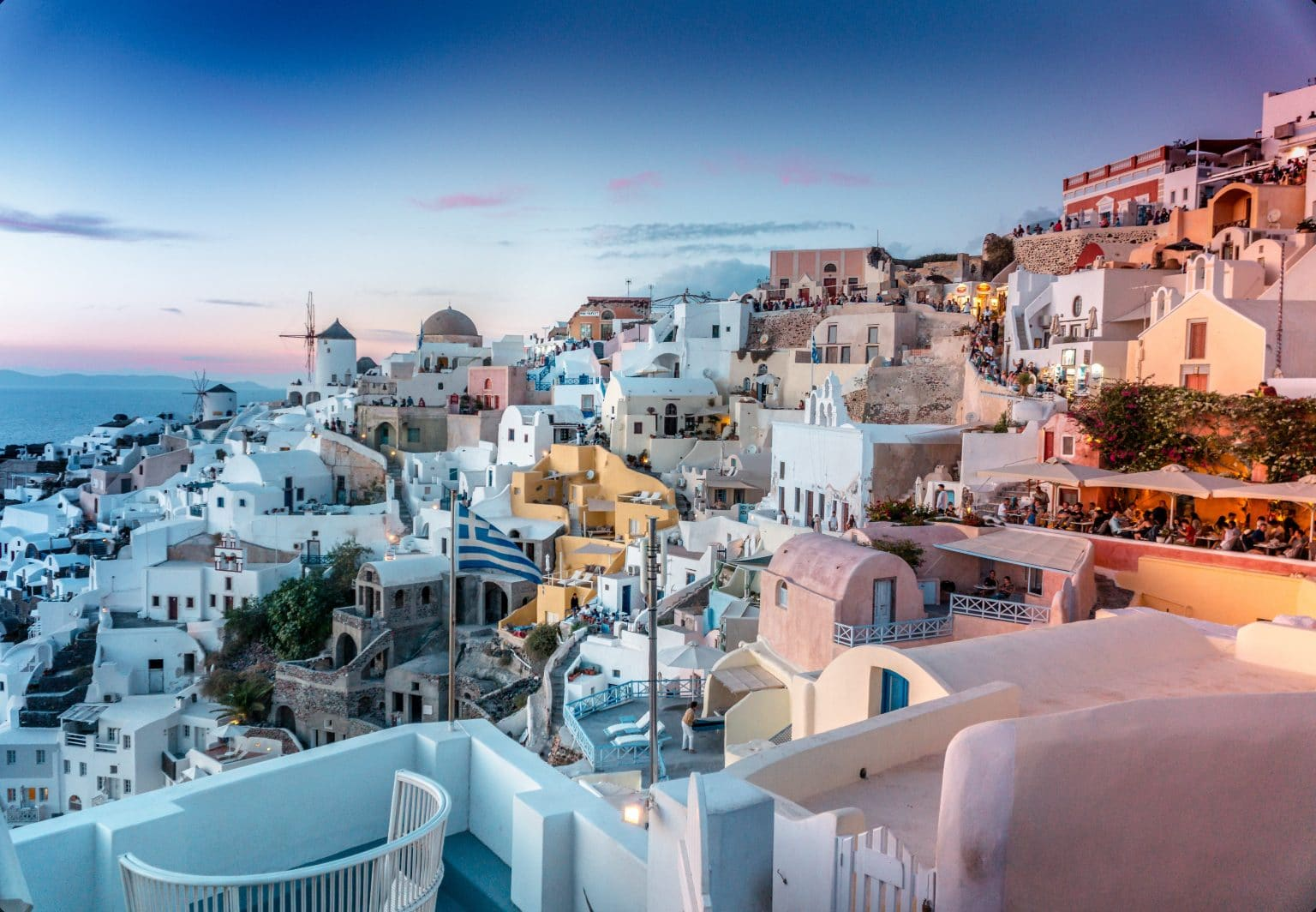 Santorini Greece Buildings