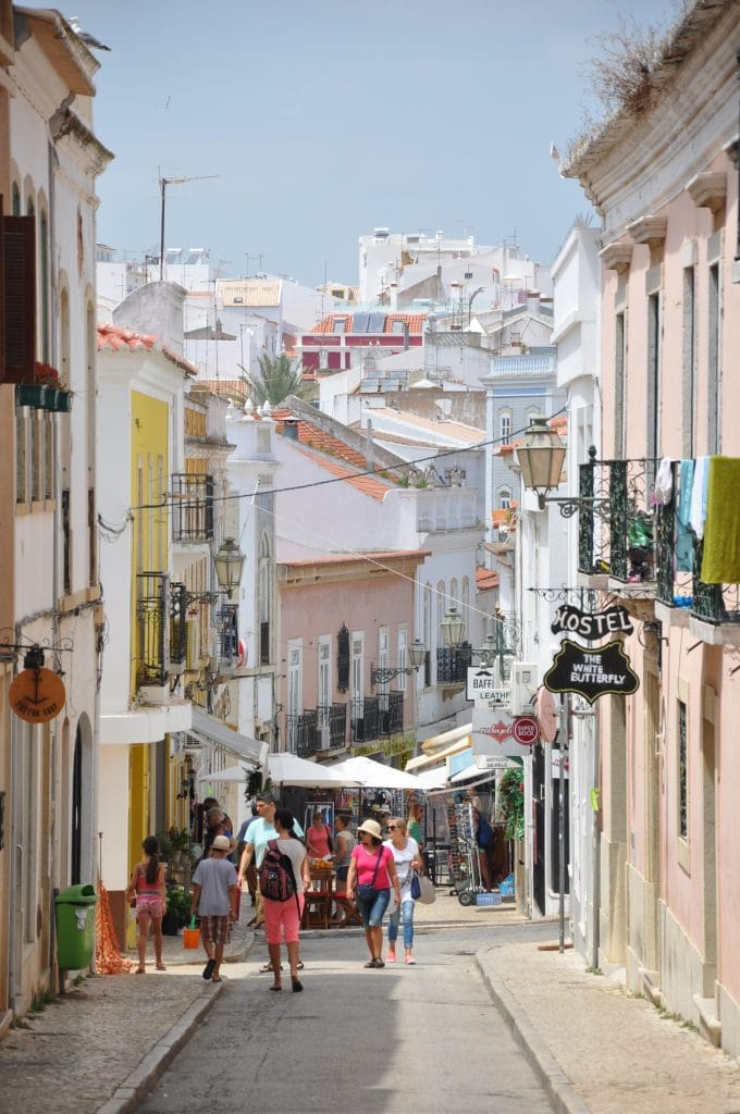 streets of lagos portugal
