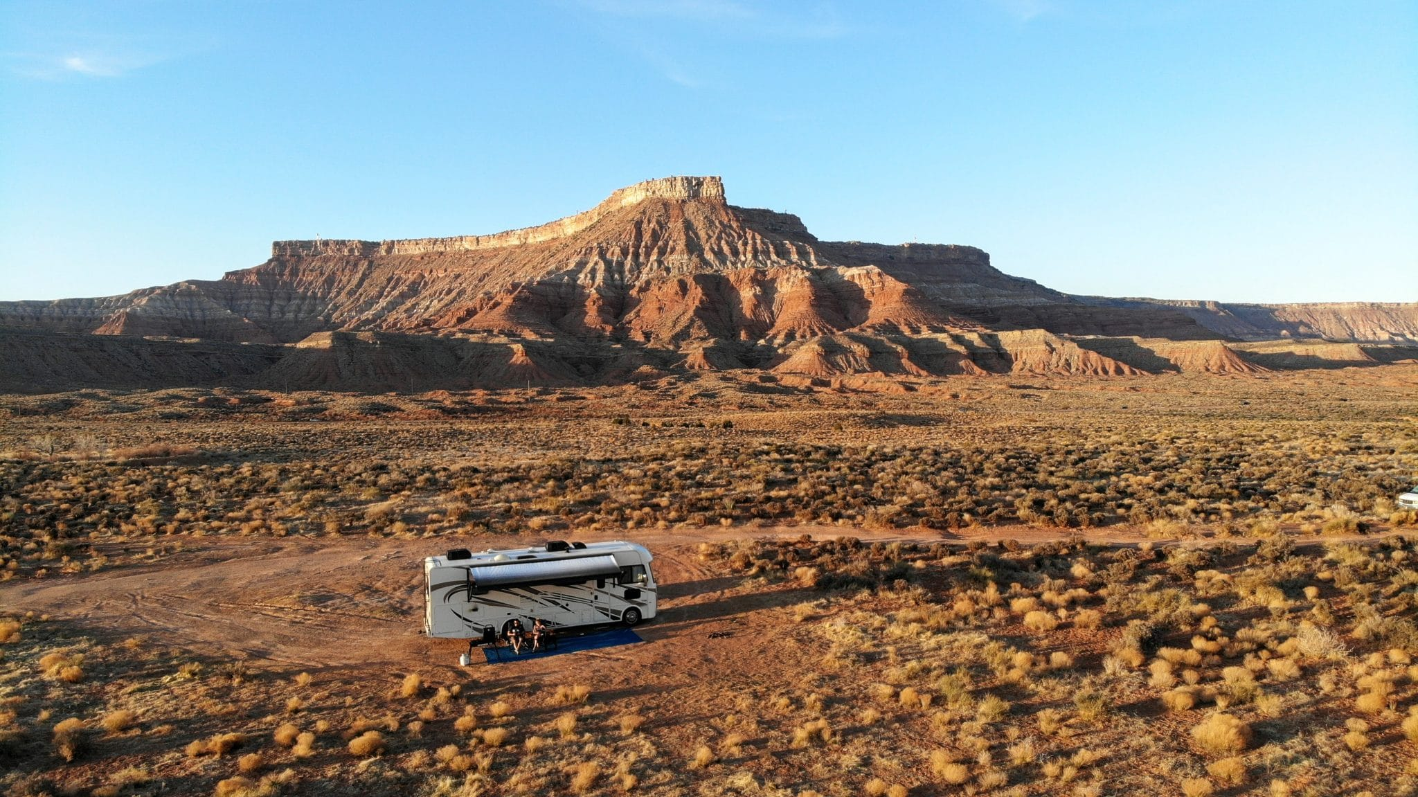 boondocking outside zion national park