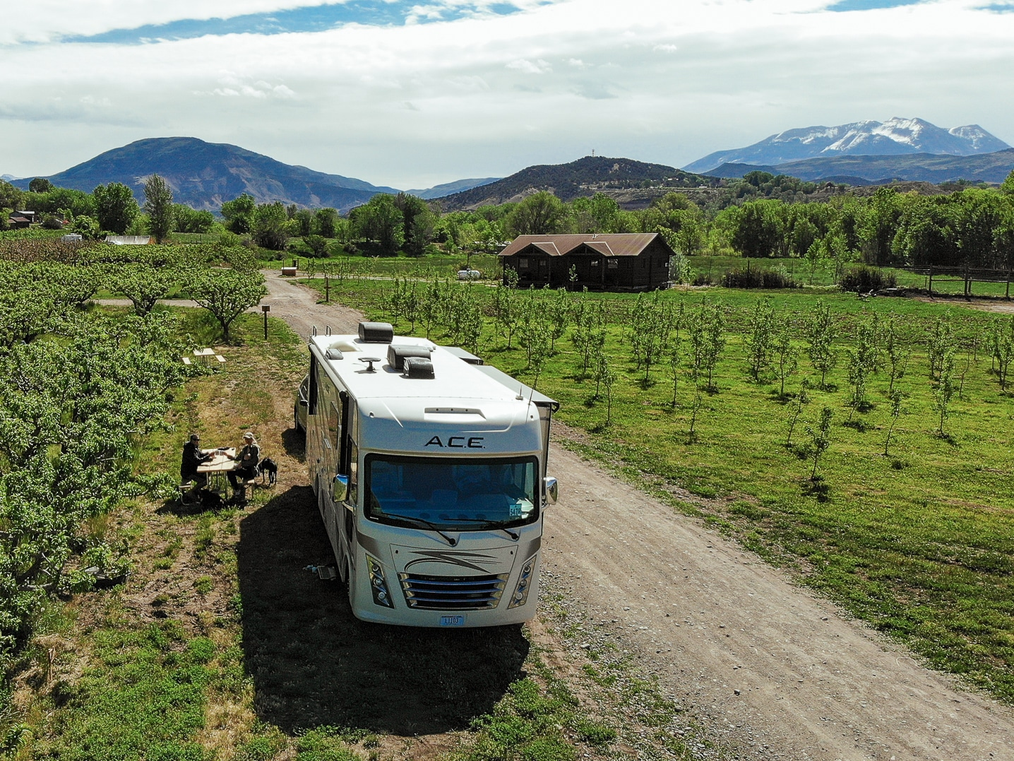 An unexpected adventure in Paonia, CO. Wineries and camping in an orchard!